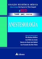 Coleção Residência Médica - Volume Anestesiologia