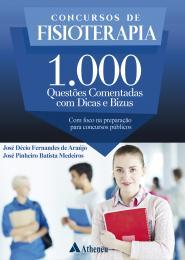 Concursos de Fisioterapia 1.000 Questões Comentadas